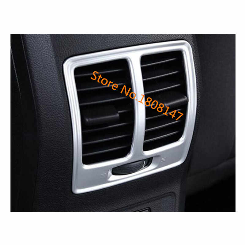 Voor Ford Kuga 2017 2018 2019 2020 Auto Sticker Garneer Cover Trim Frame Achter Back Upside Airconditioning Outlet Vent 1 Pcs