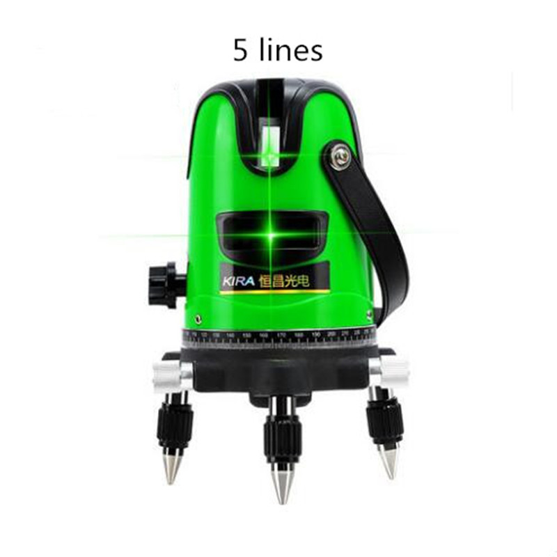 3D Laser Level Meter 5 Lines 360 Degrees Self Leveling Mini Portable Instrument Green Laser Beam dust splash proof съемник подшипников aist 67100510