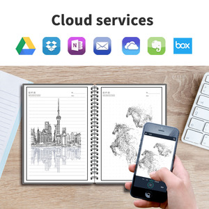 Image 5 - NEWYES A5 Smart Reusable Notebook Erasable Wirebound Notebook Cloud Storage App Paperless Waterproof Hardcover Diary Book Gifts