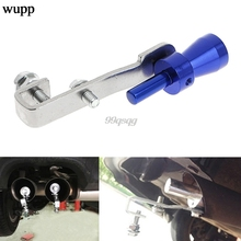Universal Car BOV Turbo Sound Whistle Simulator Pipe Exhaust Muffler New Drop shipping