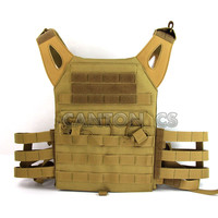 1000DTactical Molle JPC Vest Simplified Version Military Chest Protective Plate Carrier Hunting Vests Paintball Gear