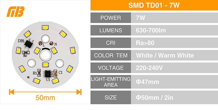 LED Down Light_TD-01 Chip_11