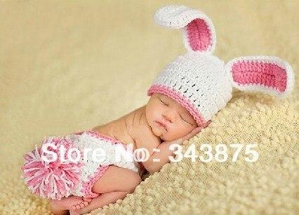 Reine Handarbeit Häkeln Niedlich Strickmütze Neugeborenes Baby Hat