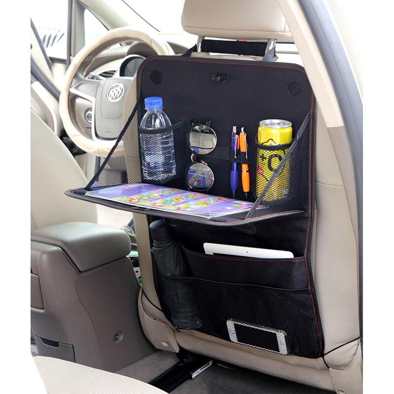 Dropshipping Car Seat Bag Baby Safety Seat Hanging Bags Car Back Seat Organizer Protector Storage Box Shopping Cart Seat