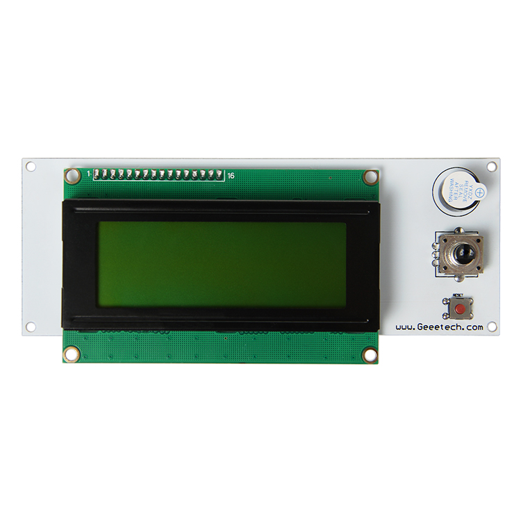 3D Printer display LCD 2004 Module Controller Fit For Utimaker,Rumba,GT2560 And GTM32 Main Board 3d printer driver controller rumba  usb cable