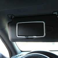 Chrome Car Interior Make Up Mirror Decoration Trim For Mercedes Benz A C CLA GLC GLE ML GLA Class Auto Accessory W205 X204