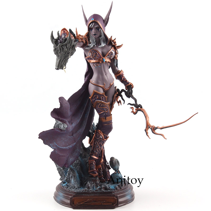 Cataclysm Sylvanas Windrunner Figure Action PVC Collectible Model Toy 22cm assassins creed origins aya pvc figure collectible model toy 22cm