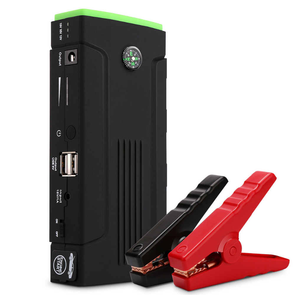 Мини мульти-Функция пусковое устройство автомобиля портативные пусковые устройства 12800mAh стартер старт устройства