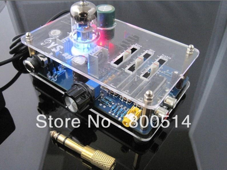Tube 6N11 headphone amplifier Pre AMP with TONE switch  YY220 pre amp tube pre amp pre amplifier - title=
