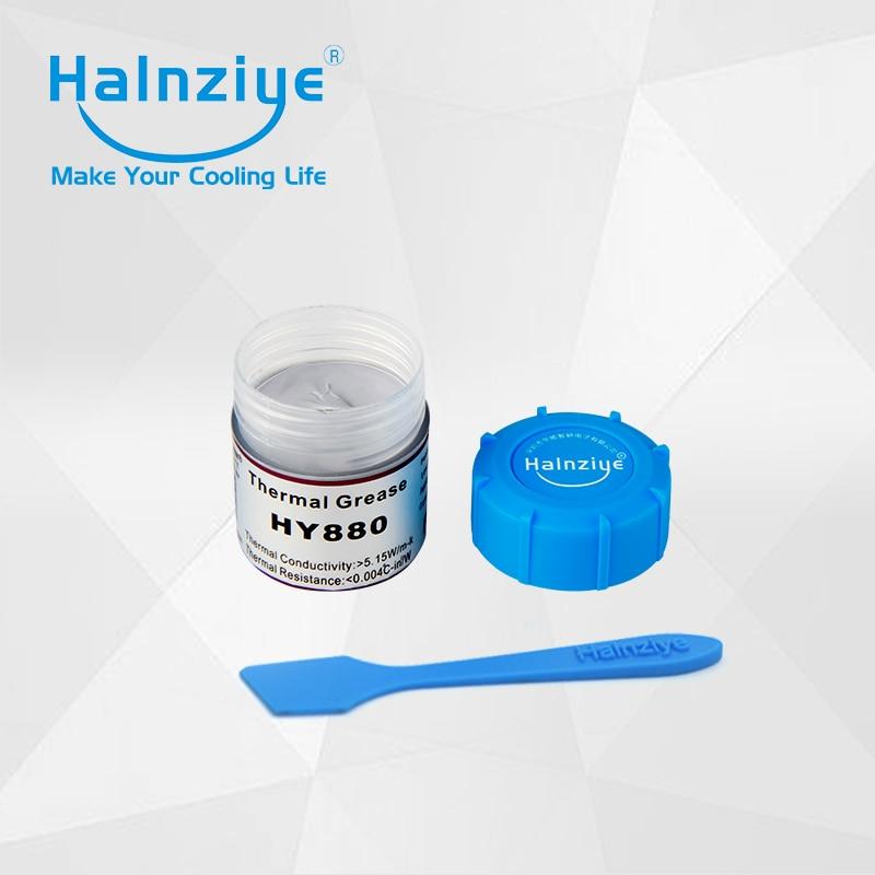 Halnziye nano silicone thermal conductive paste thermal grease thermal compound with thermal conductivity 5.15W/m-K Can 10g пуловеры oodji пуловер