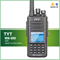 Tyt handheld transceiver ip-67 à prova d' água originais dmr rádio vhf 136-174 mhz digital rádio em dois sentidos