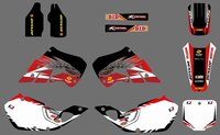 0516 Power NEW STYLE TEAM DECALS GRAPHICS BACKGROUNDS For CR125 CR250 1997 1998 1999