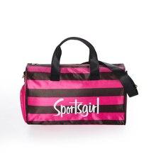 ZW040 Fashion Large capacity Stripe Travel Portable storage bag 44*27*21cm,40*25*19cm