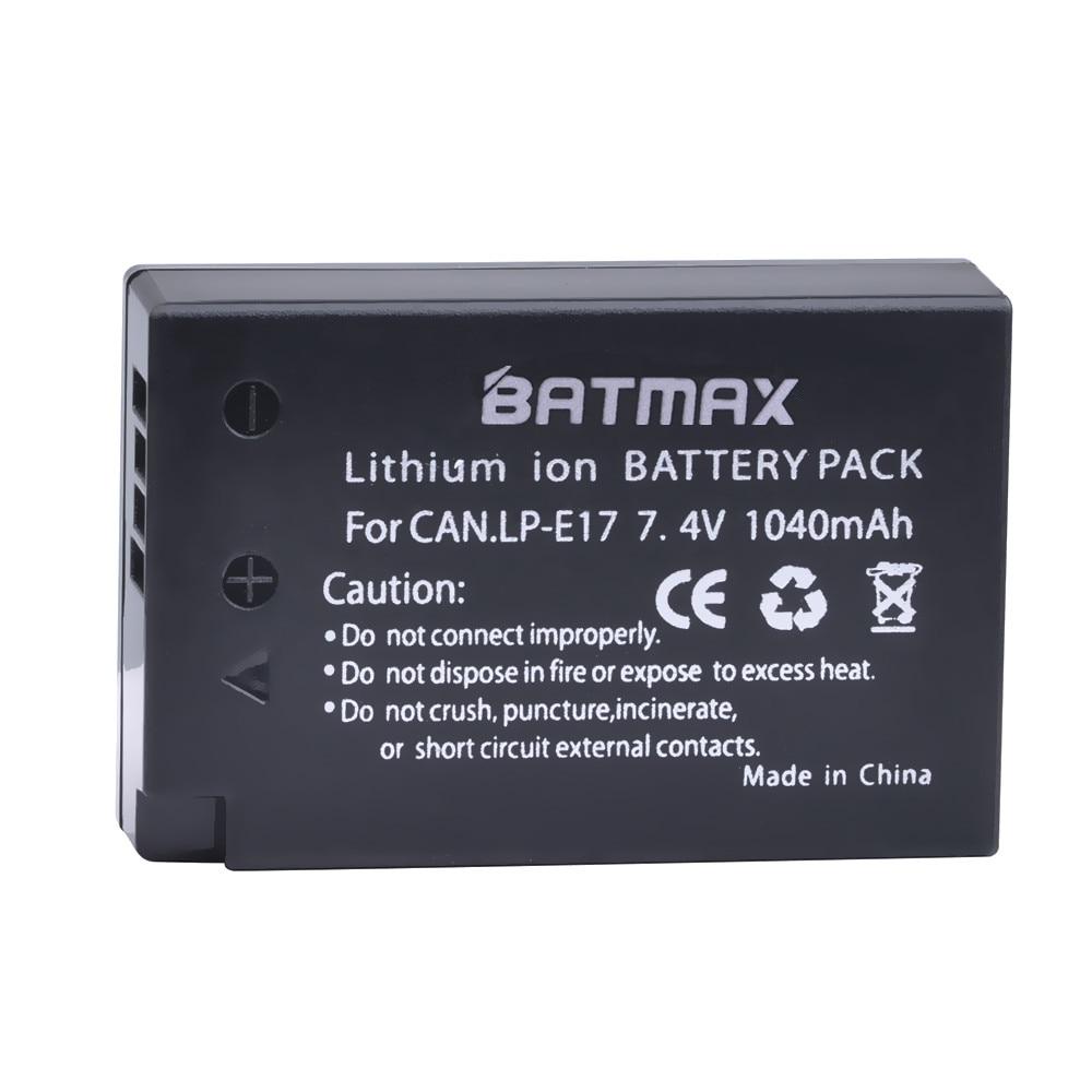 LP-E17 camera battery 01
