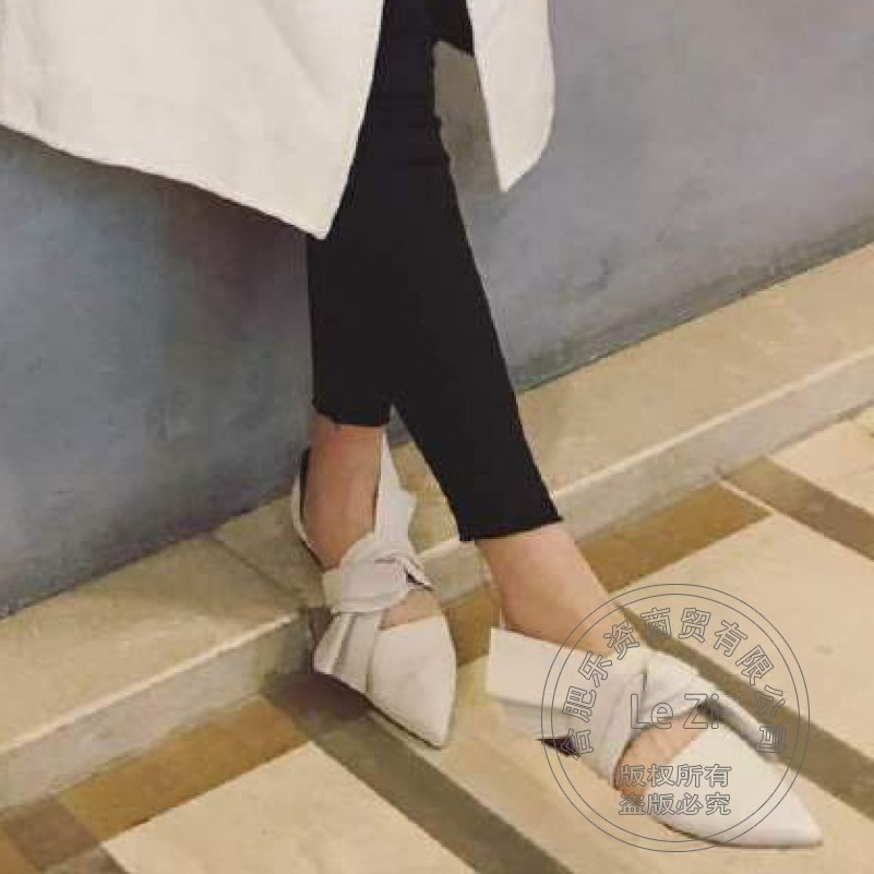 Shoes Woman Flats Soft Leather Solid Genuine Leather Women Shoes Womens Shoes Plain Closed Toe New British Style Cowhide Stylish