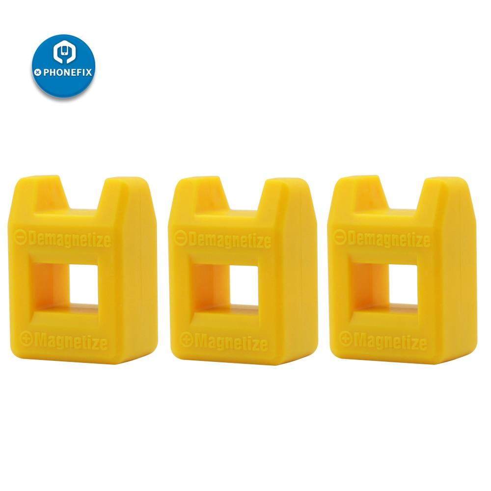 Mini Orange Professional Screw Bits Magnetic Tool Phone Repair Screwdriver Tips Magnetizer Demagnetizer Screwdriver Magnetic Too