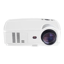 2018 HOT Sv-328 Projector Business Home Wireless With Screen Led Projector 10800p High Definition Android version AU-White