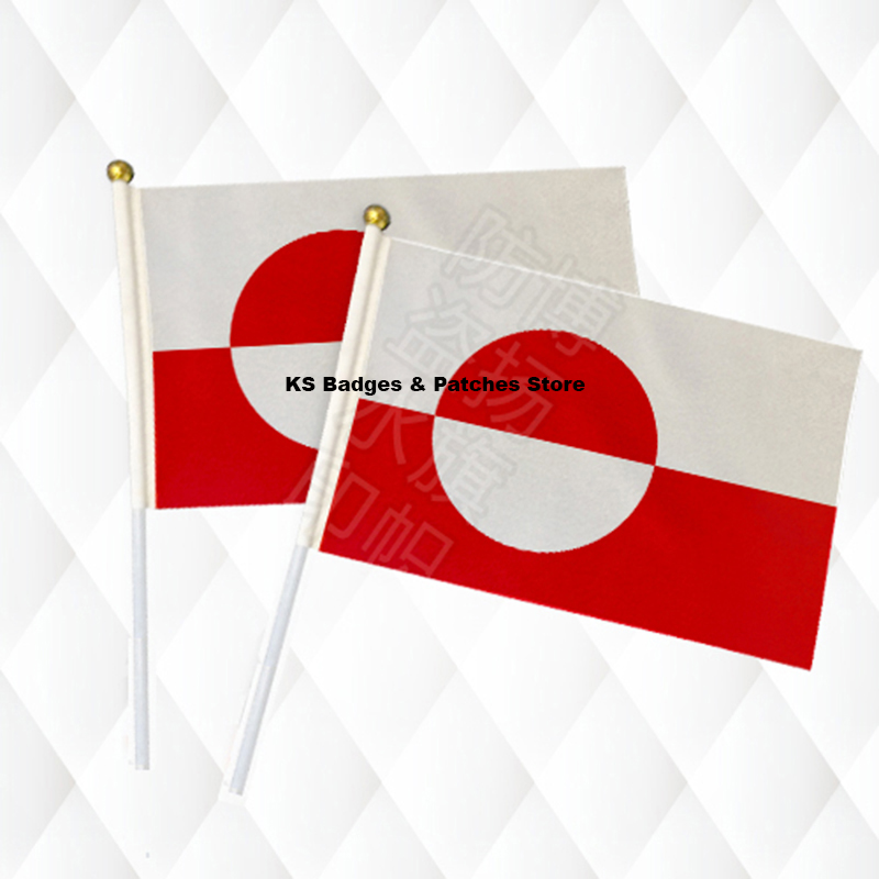 Haus & Garten Diszipliniert Grönland Hand Stick Tuch Fahnen Sicherheit Ball Top Hand Nationalen Flaggen 14*21 Cm 10 Stücke Viel Ks-0208 Ohne RüCkgabe Wohnkultur