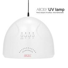УФ-лампа Abody SUNone 48 Вт, Сушилка для ногтей, светодиодный, белый светильник для ногтей, машина для отверждения ногтей, лампа для гель-лака, инструменты для дизайна ногтей