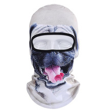 ICESNAKE 3D Motorcycle Masks Cap Dog Animal Outdoor Sports Bicycle Cycling Ski Hood Hat Veil Balaclava Full Face Mask