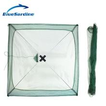 BlueSardine Large Size Fishing Net for Fish Nylon networking Fish Net Shrimp Net Fishing Tackle