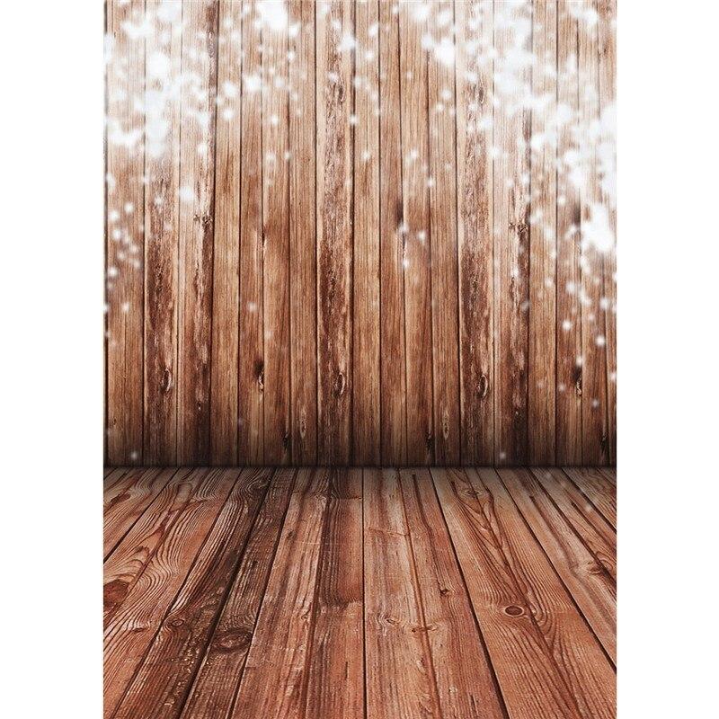 5x7ft Cloth Waterproof Lightweight Vintage Nostalgia Wood Floor Vinyl Photography Backdrop Studio Background 2.1 x 1.5m