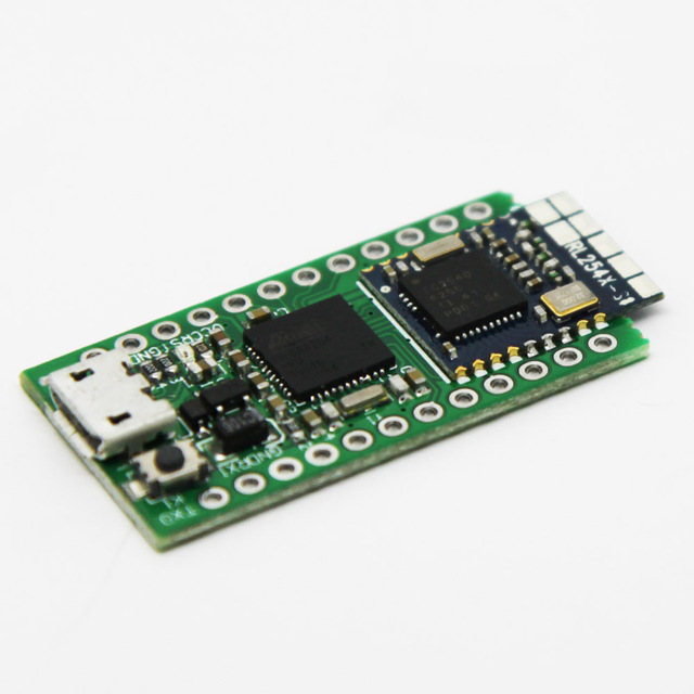 BlueDuino Rev2 Arduino Dev Board BLE 4.0 with LiPo Charger and MicroUSB Cable
