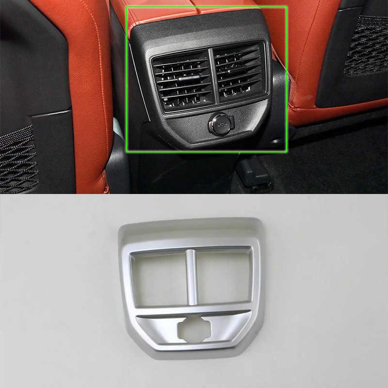 Auto accessoires innerlijke midden air vent cover 1pcs Auto Styling accessoires Voor Peugeot 4008 2016