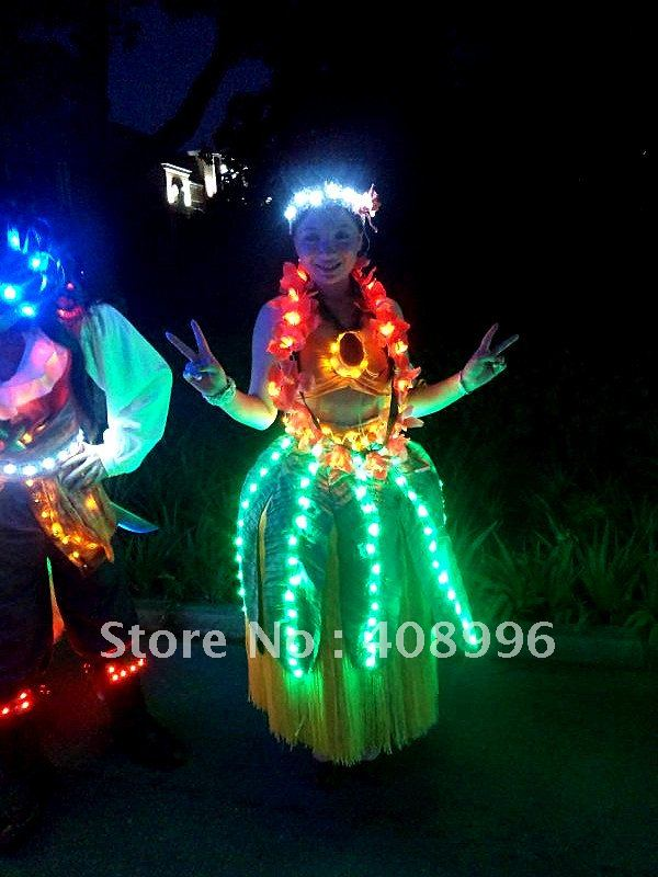 LED luminous dress for performance/Carnival dress/Light-up costumes/Amusement park series 05