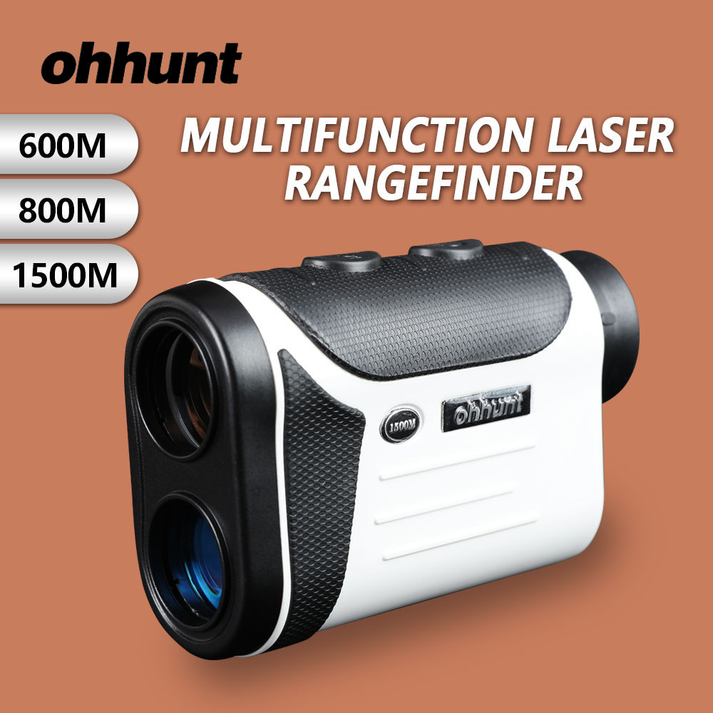 ohhunt Hunting Laser Rangefinders 600M 800M 1500M Multifunction Laser Range Finder Diastimeter Measure Laser Distance Meter healthcare gynecological multifunction treat for cervical erosion private health women laser device
