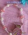 Бесплатная доставка утконоса клип красочные детские 0078 кристалл мода соску клип шику горный хрусталь алмаз бусины соской клип цепи