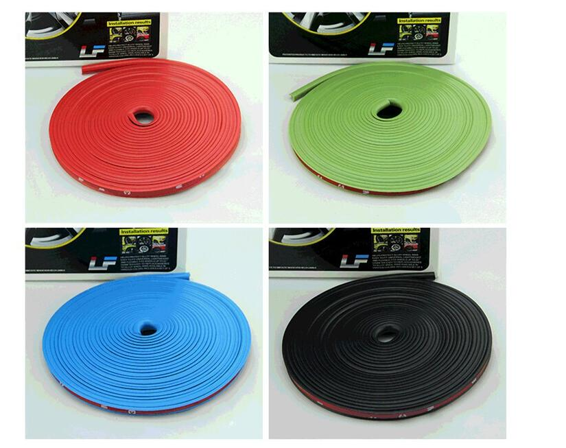 8M The car hub protects therubber gasket sticker. for Toyota Lang Cruiser Verso Avensis GT86 Etios lnnova Fortuner AYGO styling