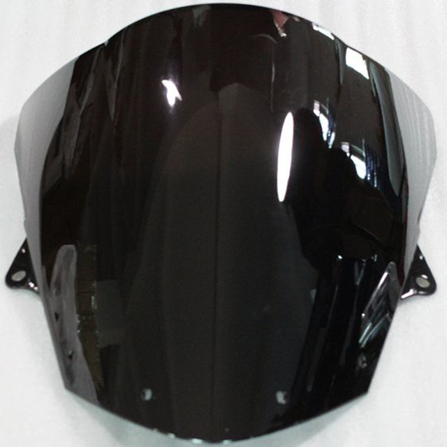2017 New Motorcycle Black Windshield Windscreen For Kawasaki Ninja ZX6R 09-10 2009 2010 Years