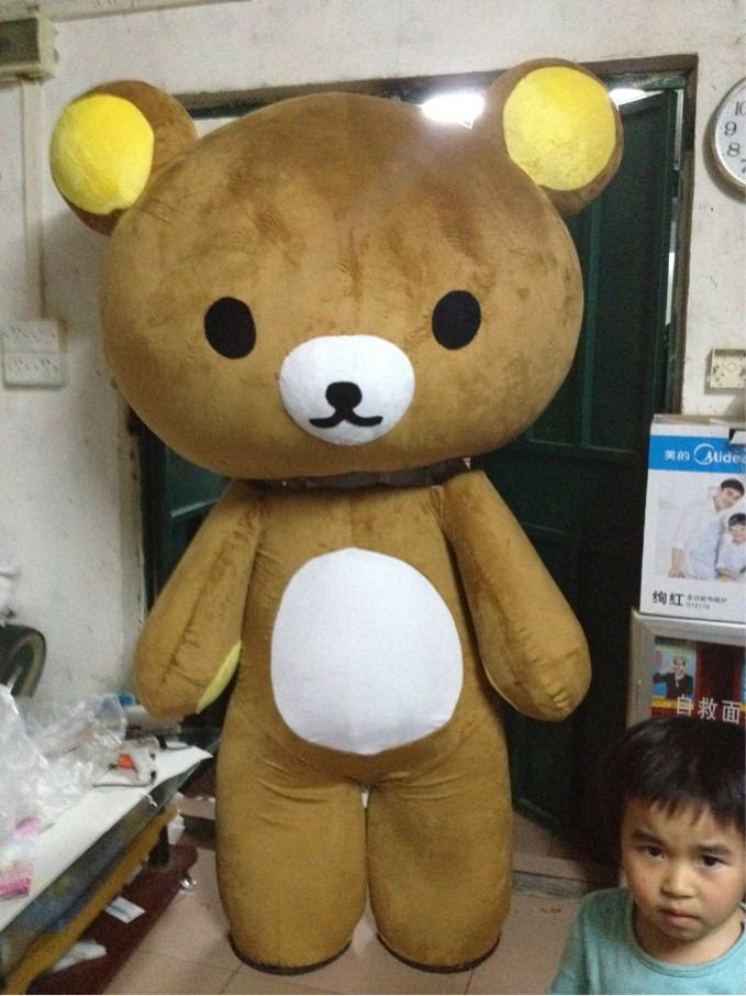Rilakkuma mascot costume Hanpan Rilakkuma mascot costume manufacturers and suppliers and ...