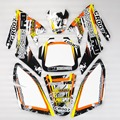 3M CRF70 GRAPHICS KIT Decals Sticker for Honda Motor Dirt Pit Bike Parts CRF70 YELLOW&BLACK