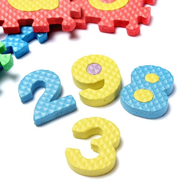 Skladačka pro děti - abeceda + čísla 2