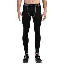 Men's Running Pants Compression Training Leggings Sportswear Quick Dry Breathable Fitness Jogging Trousers