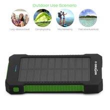 10000mAh Portable Solar Power Bank