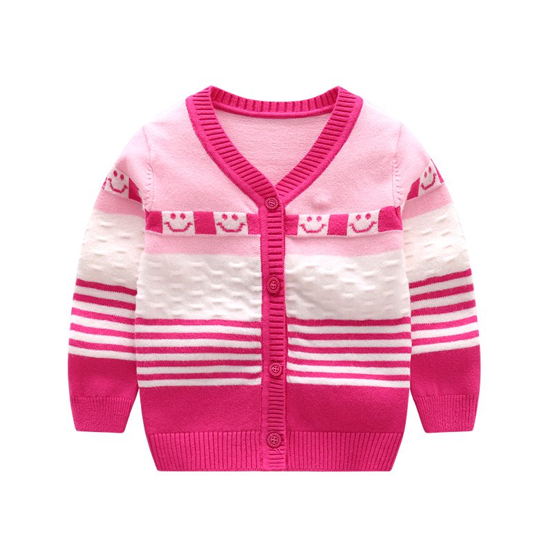 Casual-Baby-Sweater-For-Boys-Girls-V-Neck-Long-Sleeve-Infant-Sweater-Striped-Cotton-Knit-Cardigan-Spring-Autumn-Oudoor-Cardigan-2
