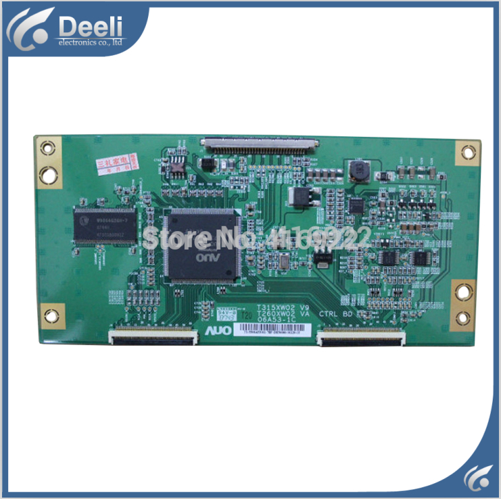 100% New original for AUO T315XW02 V9 T260XW02 VA 06A53-1C logic board on sale 100% new original for board t315hw01 v0 31t05 c02 auo logic board on sale