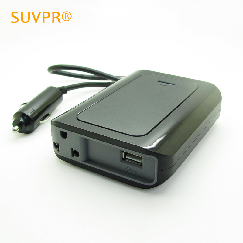 Ultrathin SUVPR 12 v to 220 v car inverter 200W auto voltage converter laptop charger power