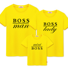 가족 일치하는 옷 티셔츠 엄마와 나 daddys 소녀 의류 보스 아빠와 아들 가족 tshirt 일치하는 의상