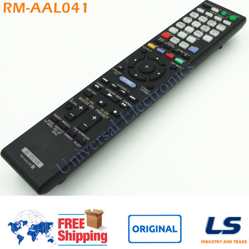 BRAND NEW ORIGINAL REMOTE CONTROL RM AAL041 148975311 FOR SONY AV RECEIVER STR DA3700ES STRDA3700ES Multi