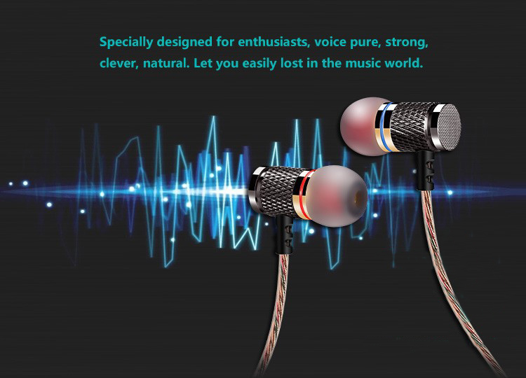 QKZ DM6 Earphones Enthusiast bass In-Ear Earphone Copper Forging 7MM Shocking Anti-noise Microphone Sound Quality fone de ouvido 11