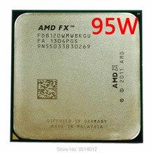 AMD FX סדרת FX 8120 FX 8120 3.1 GHz שמונה ליבות מעבד מעבד FD8120WMW8KGU שקע AM3 +