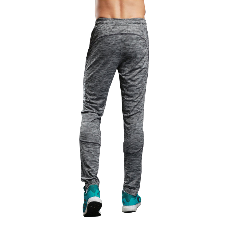 Sweat Pants Summer Running Trousers Fitness Sport Pants Men Elastic Breathable Grey Trai ...