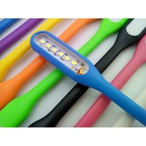 Image 5 - FFFAS مرنة USB منضدة إضاءة ليد القراءة مصباح USB الأدوات ليلة ضوء ل شاومي قوة البنك المحمول Powerbank دفتر الكمبيوتر