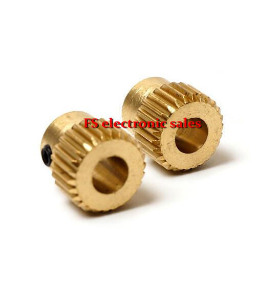 1 pcs 26 teeth Extrusion Head Gear Inner Hole Diameter 5MM 3D Printer Accessories For MK8 Extruder Free Shipping