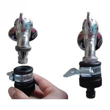 Garden Water Hose Tap Connectors Universal Adapter Faucet for Shower Irrigation Watering Fitting Pipe for 13-17m tap