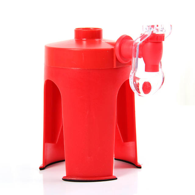 US $13 39 33% OFF|2pcs/lot Cola Drinking Straw Dispenser Hand Pressure  Bottled Drinking Water Dispenser Tap Automatic Beverage Switch Drinkers -in